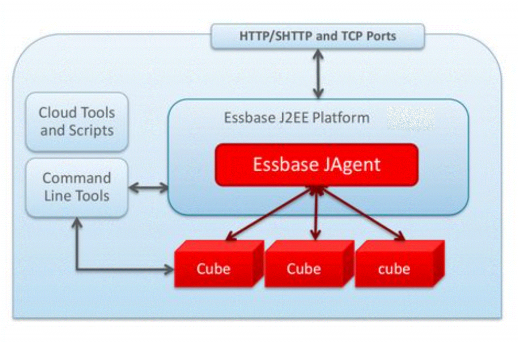 12c/20c Essbase Architektur