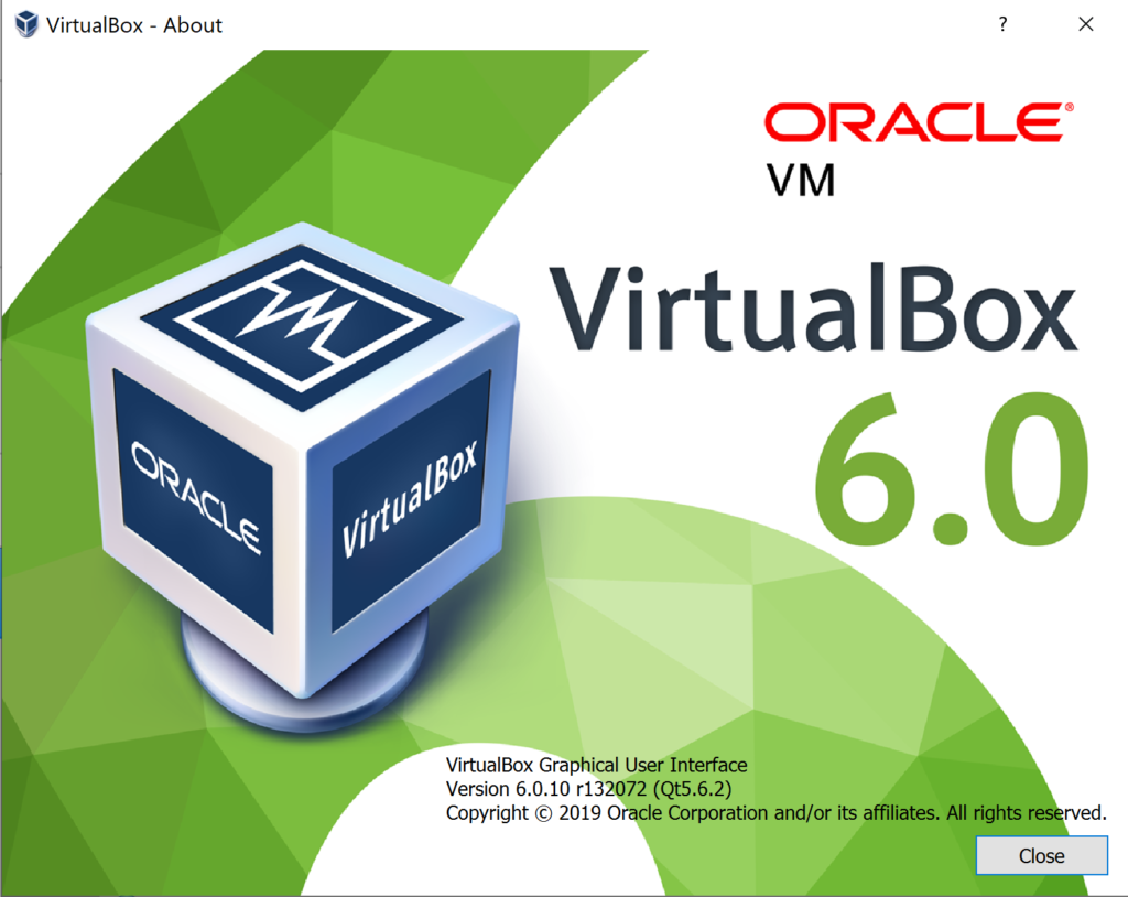 Meine Oracle Virtualbox die ein Upgrade bedarf